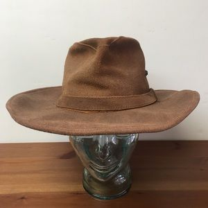 Minnetonka Aussie Hat Leather Outback Western